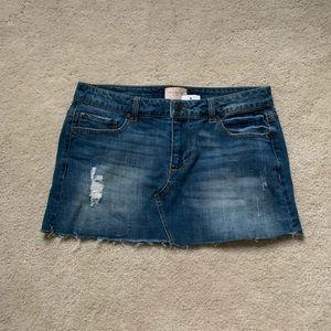 NWT jean skirt